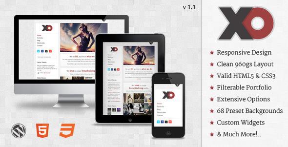 responsive wordpress portfolio themes 111 40 Premium Responsive Portfolio WordPress Themes