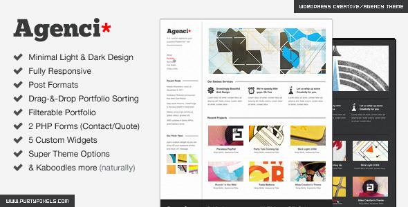 responsive wordpress portfolio themes 141 40 Premium Responsive Portfolio WordPress Themes