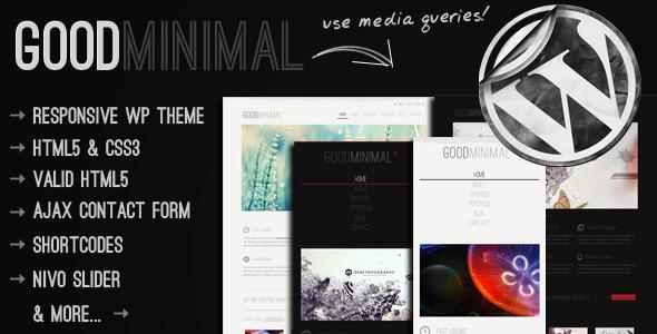 responsive wordpress portfolio themes 161 40 Premium Responsive Portfolio WordPress Themes
