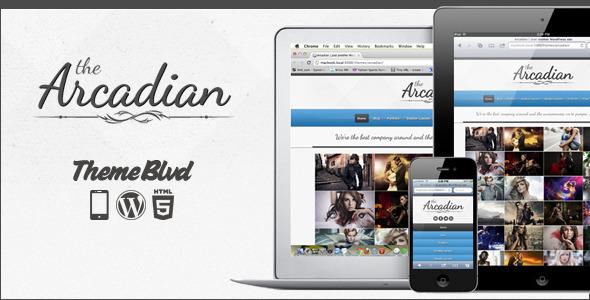 responsive wordpress portfolio themes 191 40 Premium Responsive Portfolio WordPress Themes