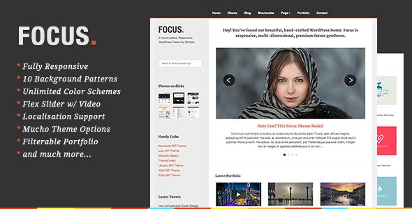 responsive wordpress portfolio themes 221 40 Premium Responsive Portfolio WordPress Themes