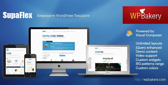 responsive wordpress portfolio themes 231 40 Premium Responsive Portfolio WordPress Themes
