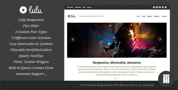 responsive wordpress portfolio themes 301 40 Premium Responsive Portfolio WordPress Themes