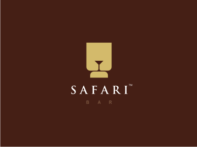 safaribardr1 50 Fierce Examples Of Lion Logos