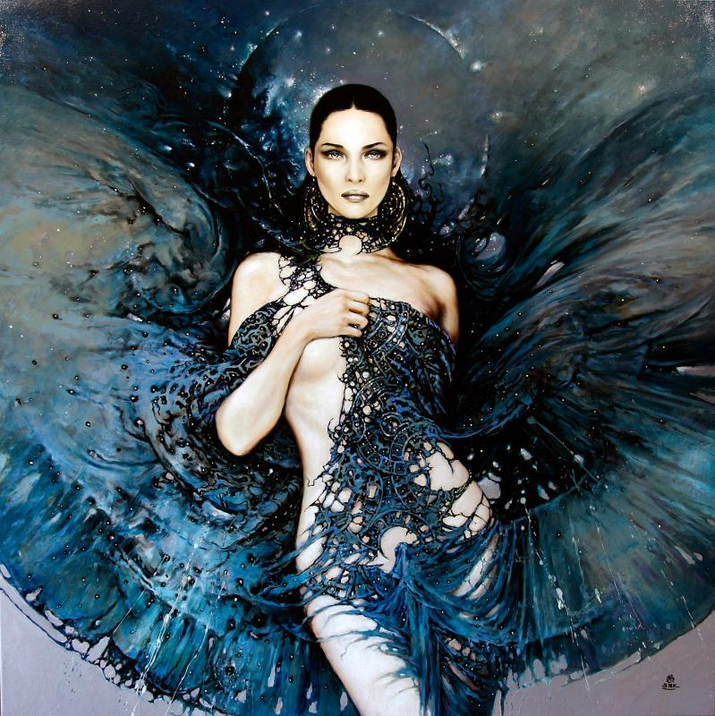 the call of the oblivion 100x100cm 20121 20 Elegant Examples of Traditional Art by Karol Bak