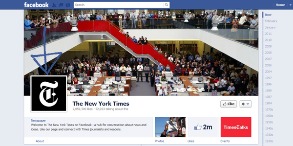 the new york times timeline New Facebook Timeline for Brands: Rookie to Pro Guide
