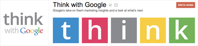 think with google1 25 Great Examples of Google Plus Brand Pages