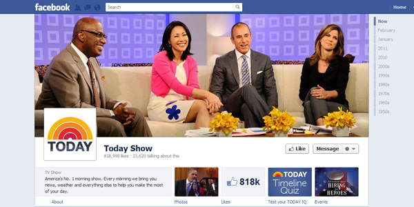 today show New Facebook Timeline for Brands: Rookie to Pro Guide