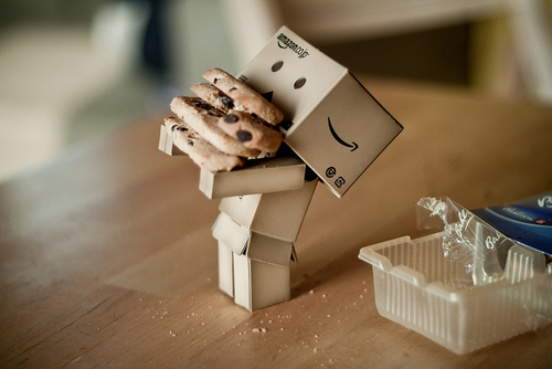 tumblr lcjuqarjaq1qejf28o1 5001 45 Captivating Photos of Amazons Mascot Danbo