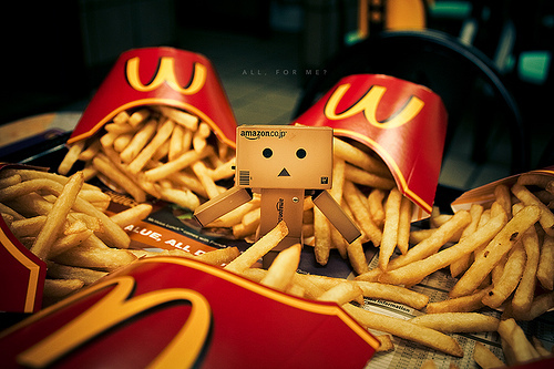 tumblr lvxchhurzg1qejf28o1 5001 45 Captivating Photos of Amazons Mascot Danbo