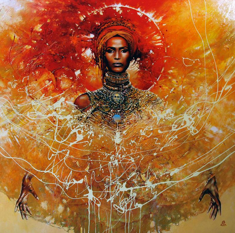 want 100x100cm 20121 20 Elegant Examples of Traditional Art by Karol Bak