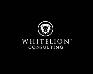 whitelion consulting1 50 Fierce Examples Of Lion Logos