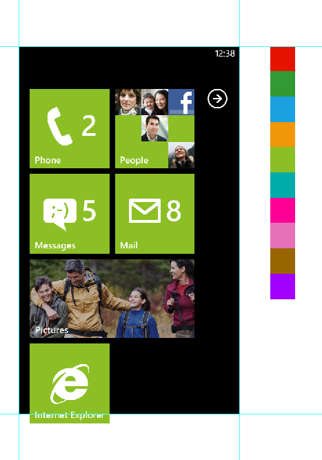 wp7 start screen preview1 20+ Free Windows Phone 7 Mockup and Wireframing Resources