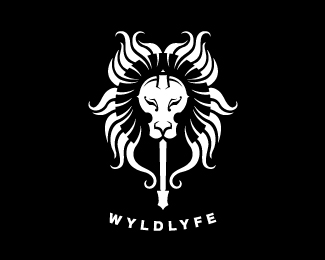 wyldlyfe1 50 Fierce Examples Of Lion Logos