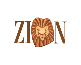 zion1 50 Fierce Examples Of Lion Logos