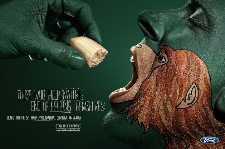 1 20+ Environmental Awareness Advertising Campaigns