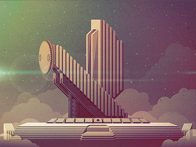 1171 Epic Illustrations by Justin Mezzell