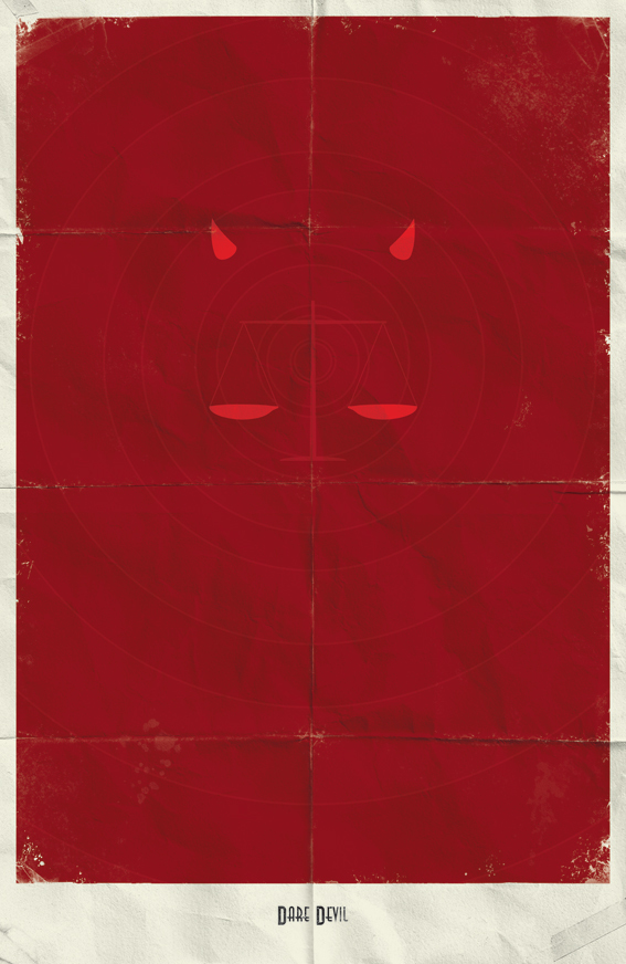 12e7c2460450f5e14e957005f0ecbd03 Minimal Marvel Posters by Marko Manev