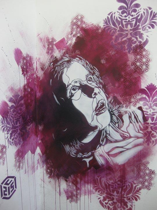 3273339251 8515f4de28 b2 Graffiti Stencil Art by Street Artist C215