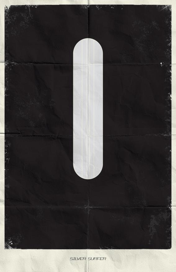 3ad55e4d0d8c8f52ef454f86b62c09d8 Minimal Marvel Posters by Marko Manev