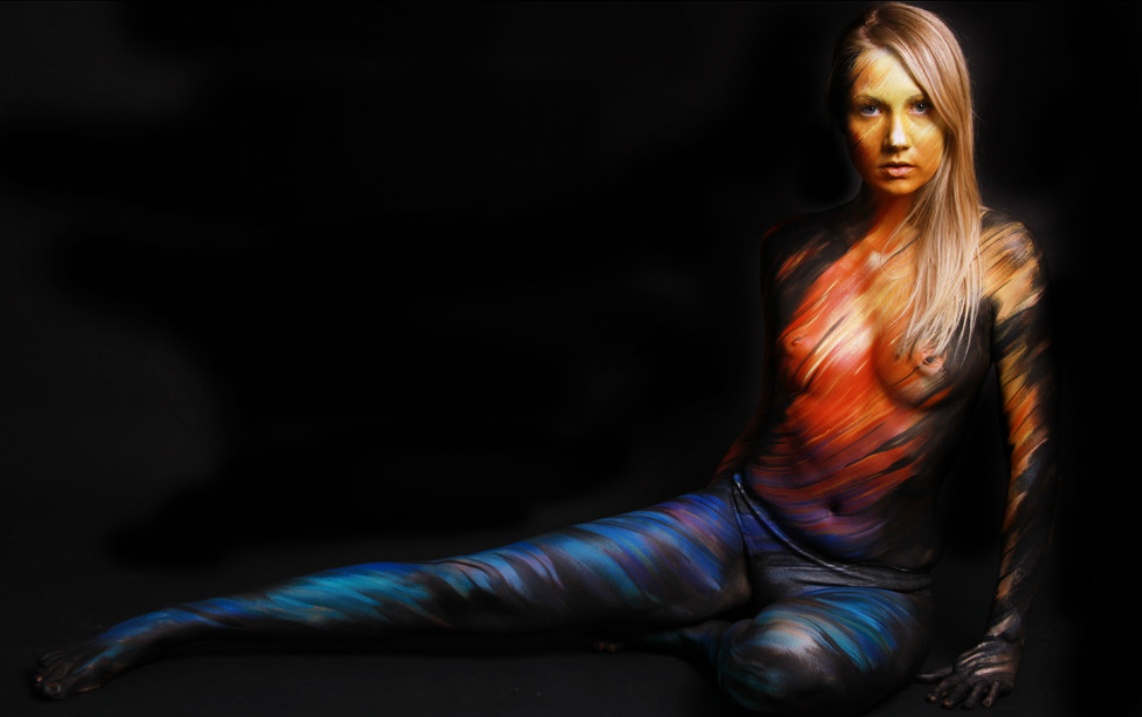 14 Beautiful Body Paintings By Gesine Marwedel Inspirationfeed