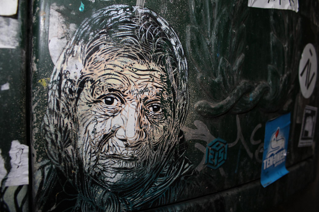 5187858918 7b90474873 b Graffiti Stencil Art by Street Artist C215