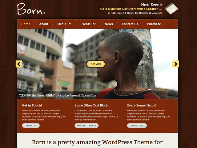6 born theme themeforest Top 15 Video Themes For Wordpress