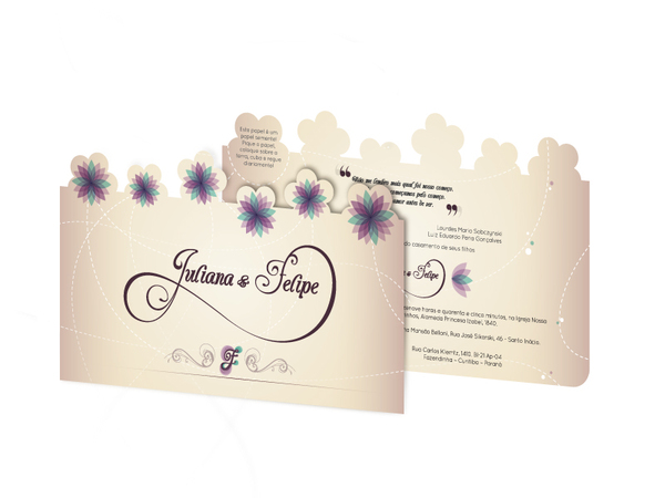 62055b738133bbad7b8f4c9913cc5f441 30 Uniquely Designed Wedding Invitations