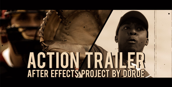 action trailer 590x3001 20 After Effects Templates Inspired by Action Movies