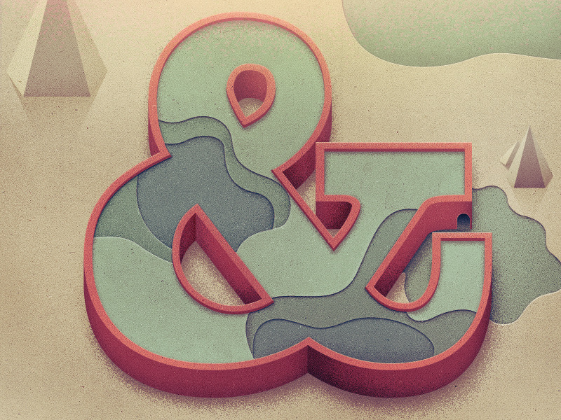ampersand full 900 Epic Illustrations by Justin Mezzell