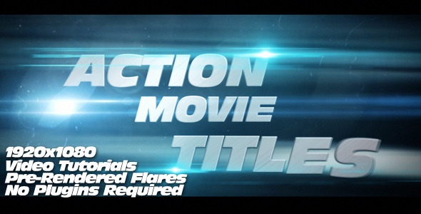 amt 5901 20 After Effects Templates Inspired by Action Movies