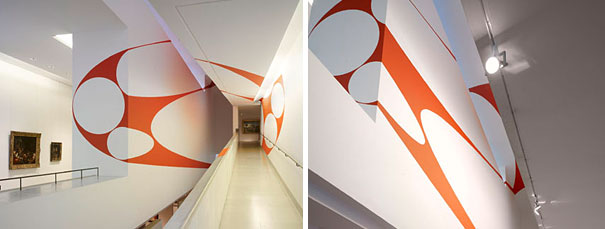 anamorphic illusions by felice varini 18 Breathtaking Anamorphic Illusions by Felice Varini