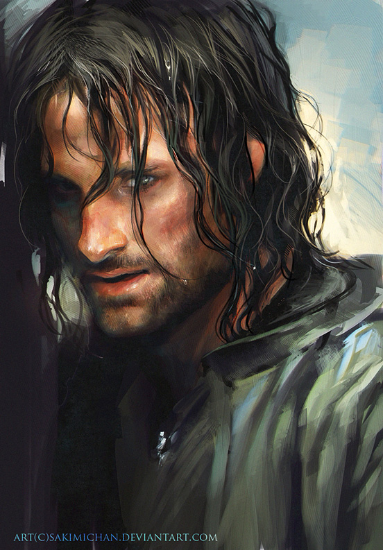 aragorn l1 45 Fascinating Illustration Designs and Photo Manipulations #4