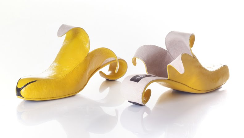 banana71 Artistic Footwear Designs by Kobi Levi