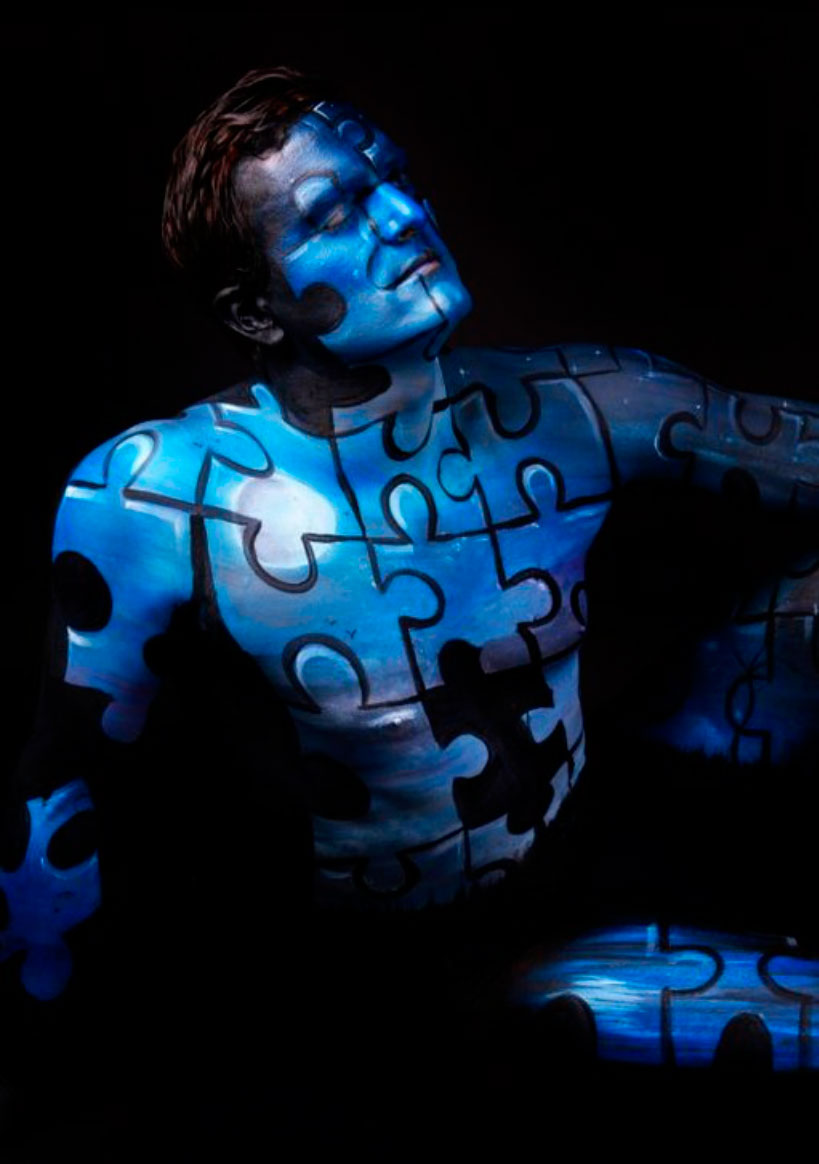 body11 Beautiful Body Paintings by Gesine Marwedel