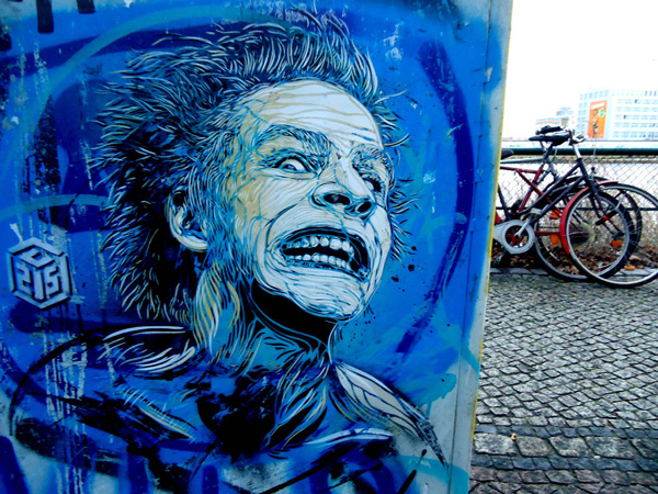 c215 3 Graffiti Stencil Art by Street Artist C215