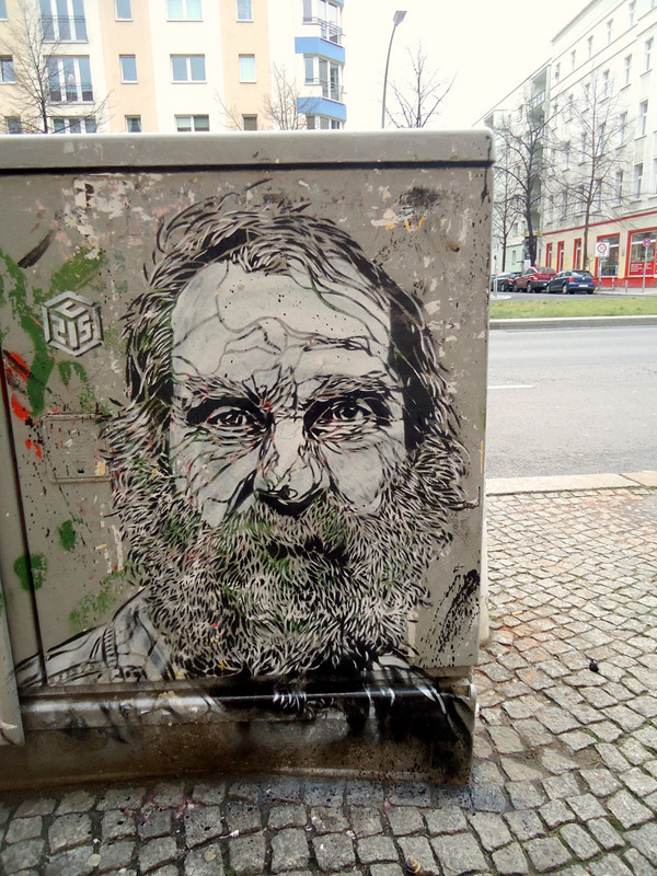 c215 4 Graffiti Stencil Art by Street Artist C215