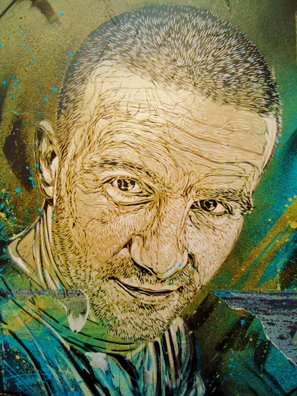 c215 5 Graffiti Stencil Art by Street Artist C215