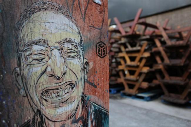c215 street art artist 650x432 Graffiti Stencil Art by Street Artist C215