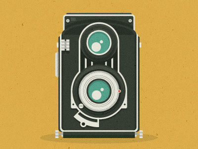camera Epic Illustrations by Justin Mezzell