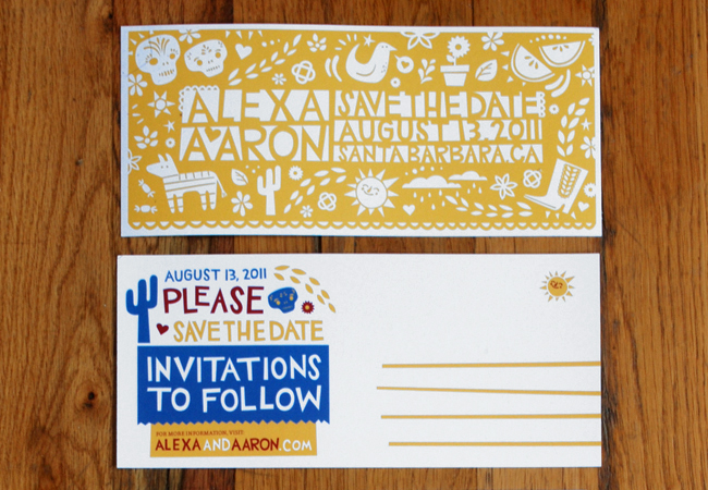 cargo a a std1 30 Uniquely Designed Wedding Invitations