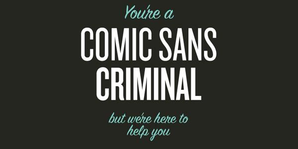 sans quadrinhos About Face Que seu Font diz sobre você?