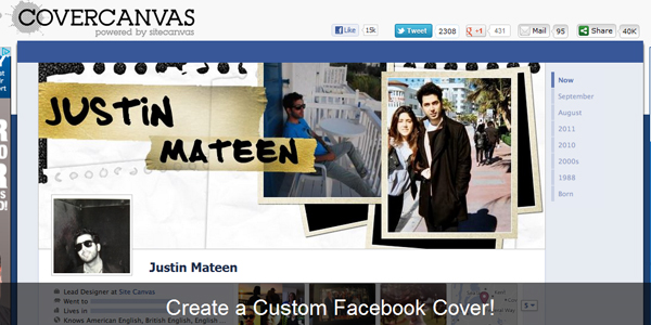 covercanvas 10 Free Tools to Create a Facebook Timeline Cover