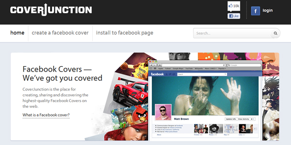 coverjunction 10 Free Tools to Create a Facebook Timeline Cover