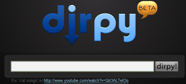 dirpy 5 Websites to Convert YouTube Video to mp3