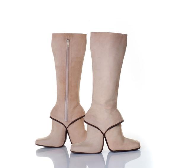 doubleboots11 Artistic Footwear Designs by Kobi Levi
