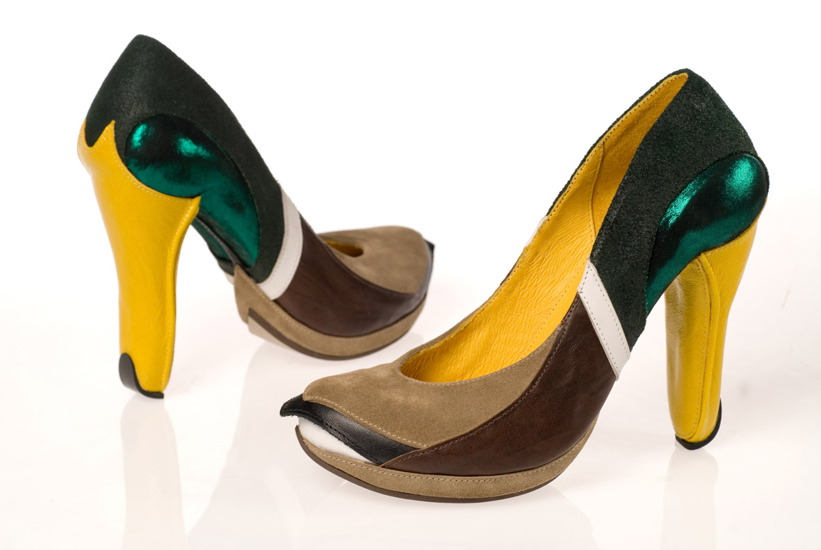 duck2b11 Artistic Footwear Designs by Kobi Levi