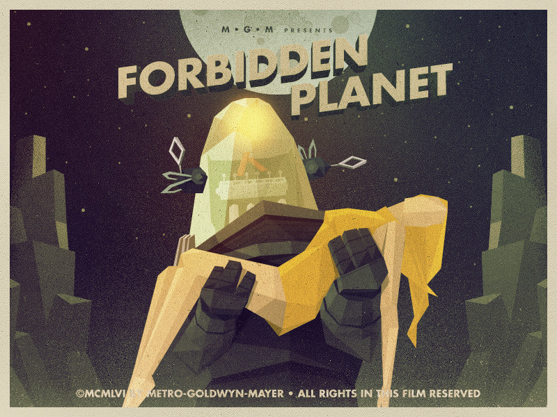 forbiddenplanet 900 Epic Illustrations by Justin Mezzell