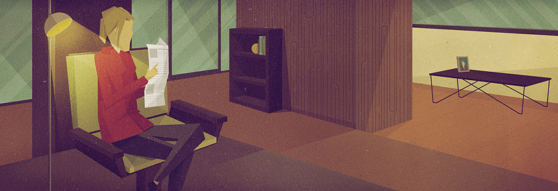 fortune interiorscene 9001 Epic Illustrations by Justin Mezzell