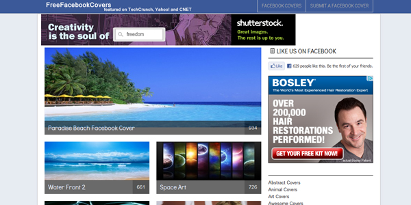freefacebook covers 10 Free Tools to Create a Facebook Timeline Cover